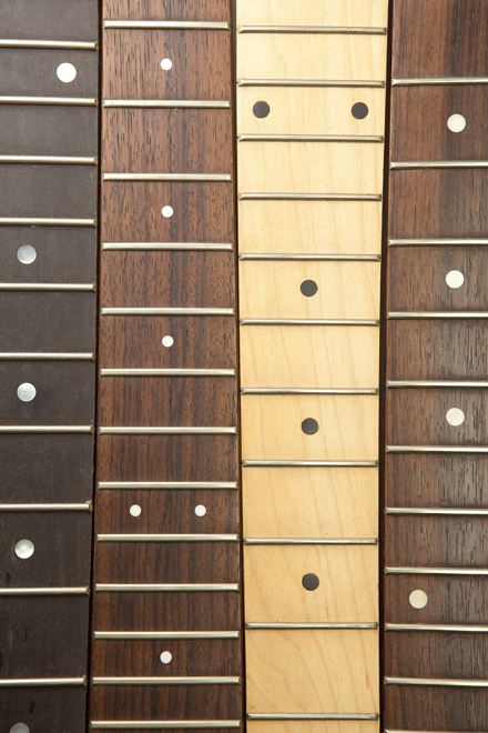 Rosewood Maple Ebony Guitar Fretboard Neck
